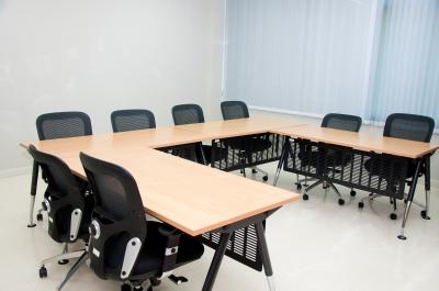 zasedací místnost ve virtuálním sídle firmy